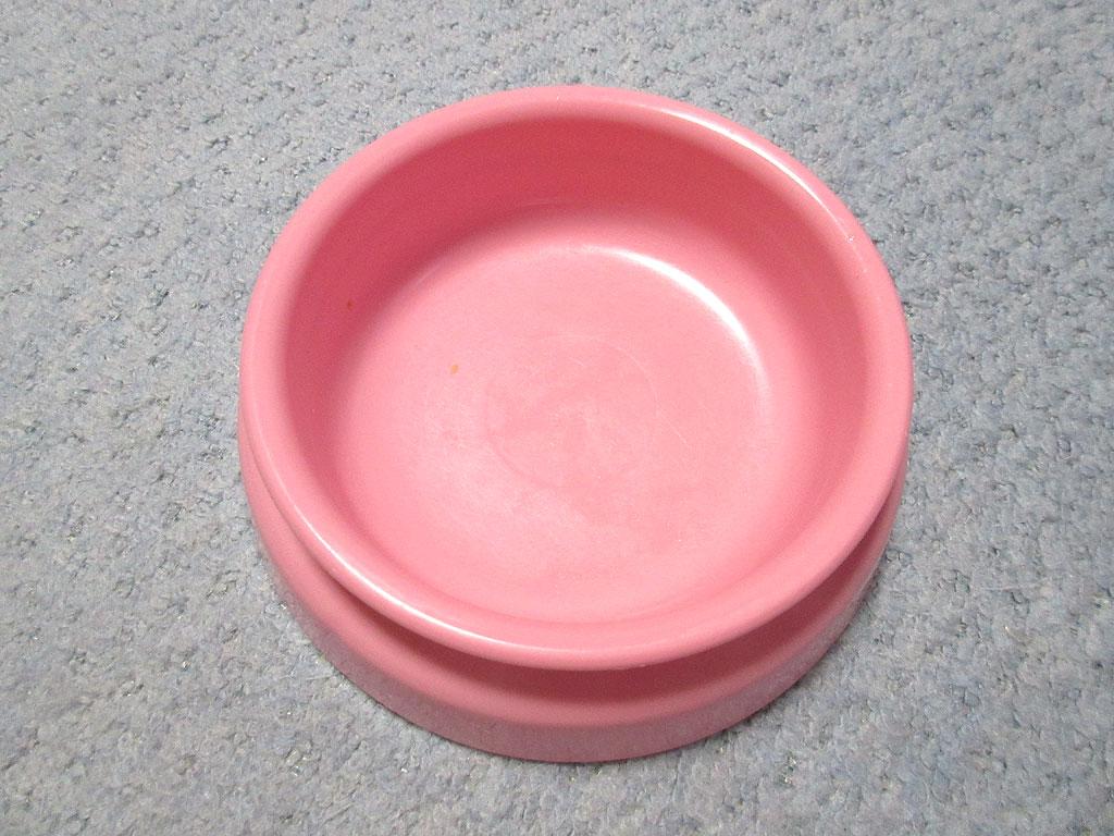 ピカピカの空のお皿。