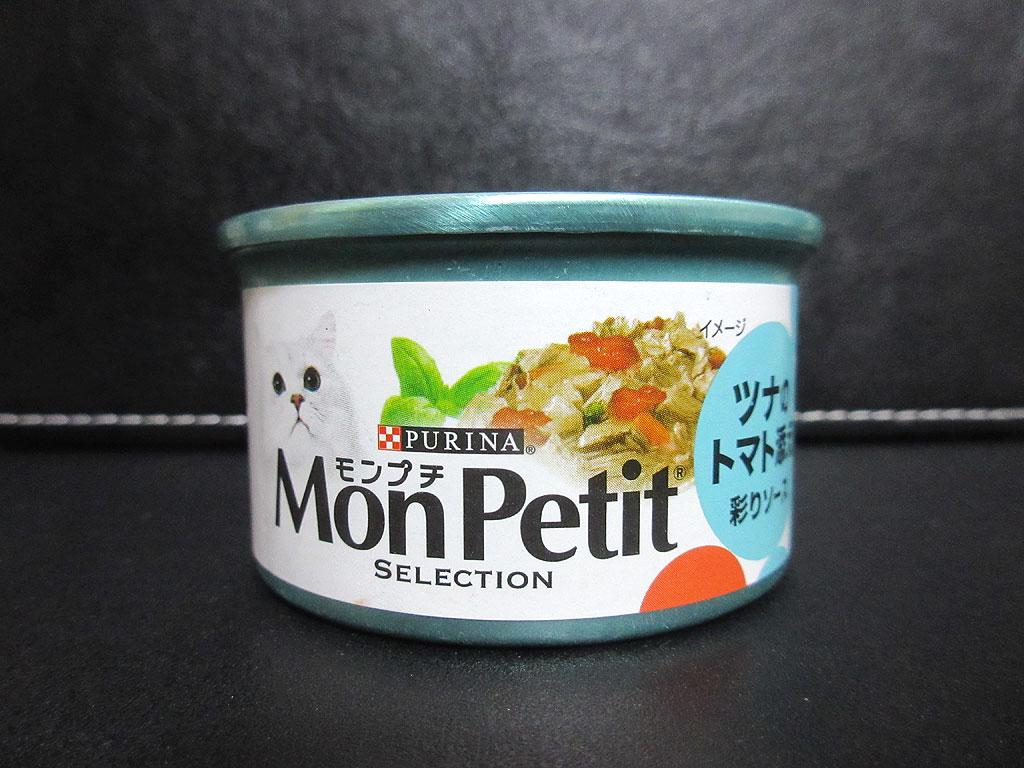 モンプチの缶詰。