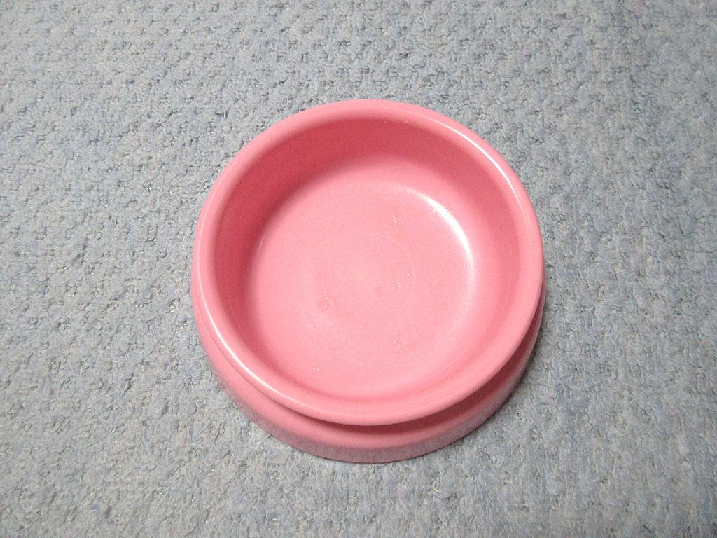 完食のアビのすけのお皿。