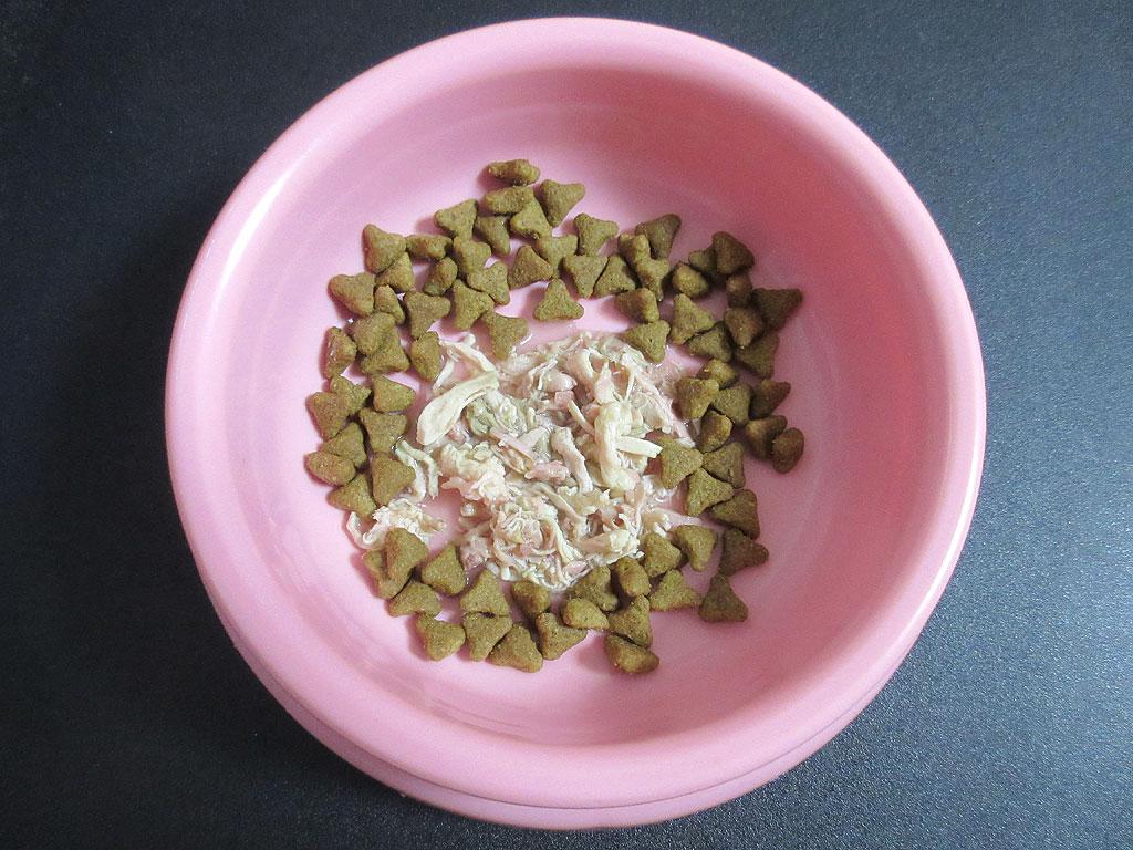 お洒落な盛り付けのアビのすけのご飯。