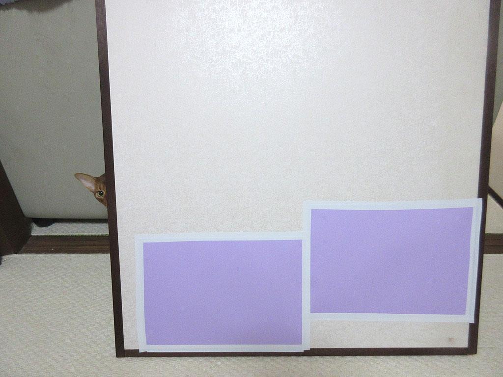 修復後の襖の写真。