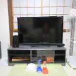 我が家のテレビ。