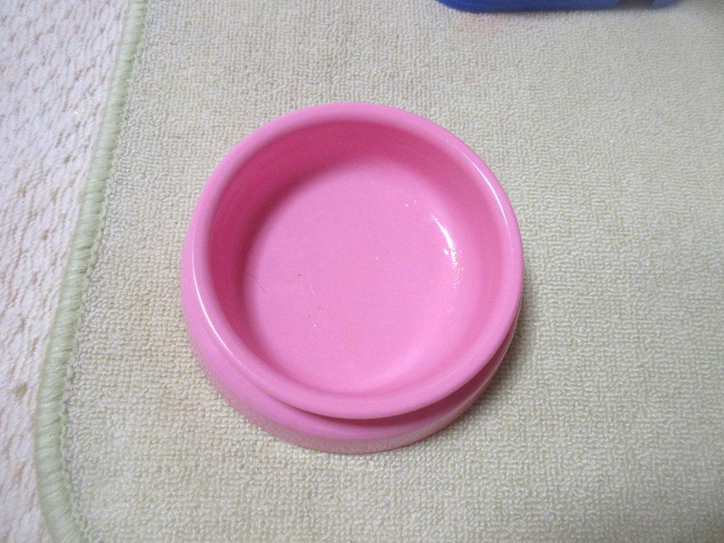 ピカピカの完食のお皿。