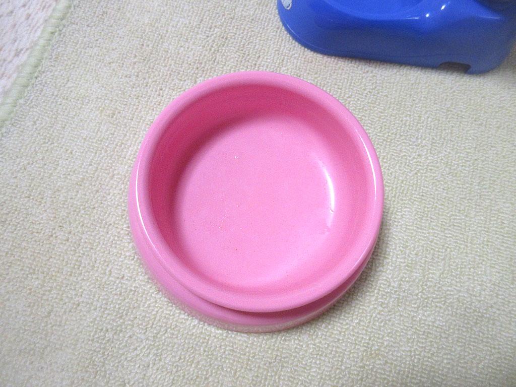 完食した皿。