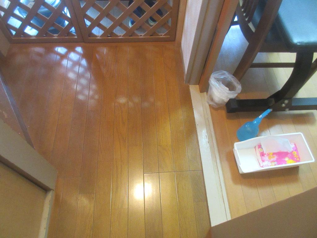 あっという間に掃除が完了。